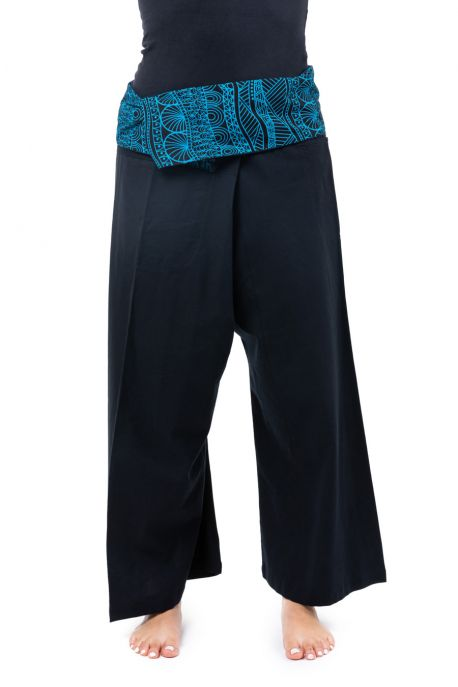 Pantalon thai graphic ethnic Phikah