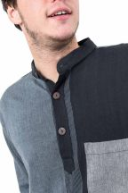 Chemise transformable manches courtes Livity