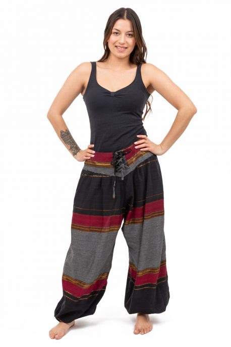 Pantalon indian ethnic chic corset Sanadah